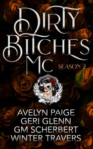 Book cover for the Dirty Bitches MC Season 2
